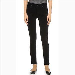 👖 MOTHER velvet skinny pants